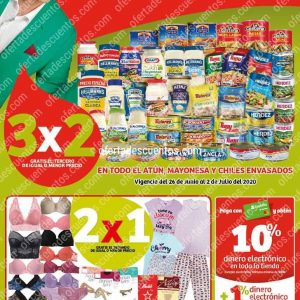 Folleto Ofertas Julio Regalado 2020 Soriana Mercado del 26 Junio al 2 de Julio