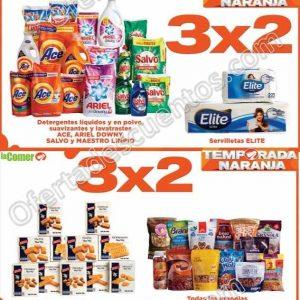 Folleto Ofertas Temporada Naranja La Comer del 26 de Junio al 2 de Julio