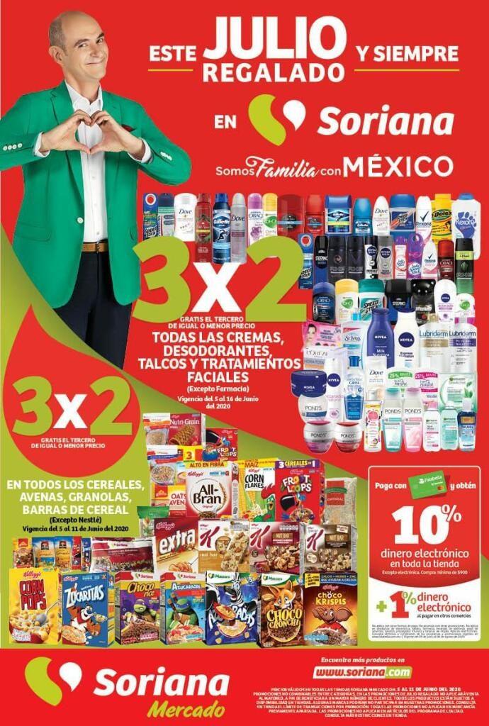 Julio Regalado 2020: 3×2 en Todos los Cereales, Granolas, Barras y Yoghurt del 5 al 11 de Junio