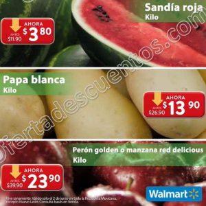 Ofertas Martes de Frescura Walmart 2 de Junio 2020