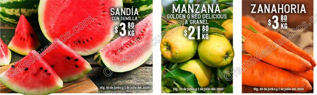 Soriana: Ofertas Frutas y Verduras 30 de Junio y 1 de Julio 2020