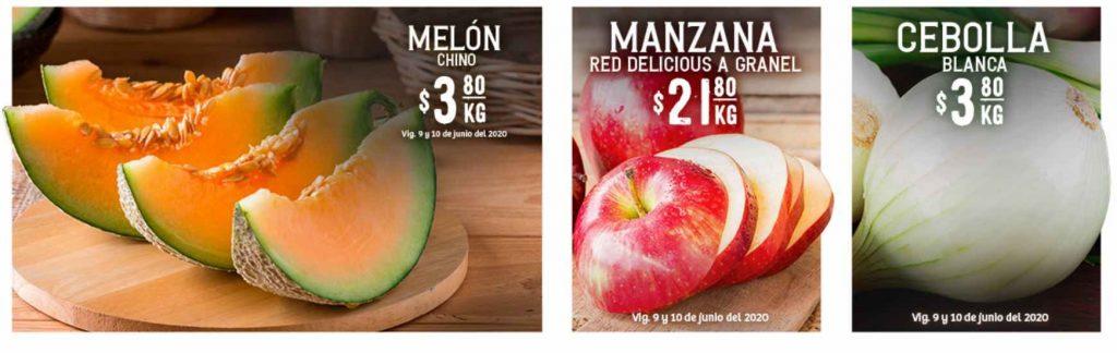 Soriana: Ofertas Frutas y Verduras 9 y 10 de Junio 2020