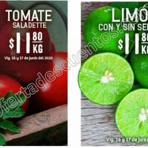 Soriana: Ofertas Frutas y Verduras 16 y 17 de Junio 2020