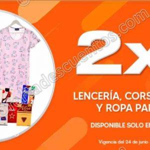 Temporada Naranja 2020 La Comer: 2×1 en Ropa Interior, Medias y Pijamas para Dama