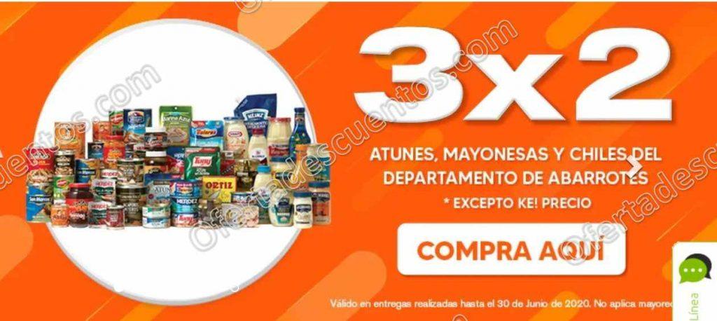Temporada Naranja 2020 La Comer: 3×2 en Atunes, Mayonesas y Chiles Enlatados