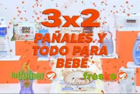 Temporada Naranja 2020 La Comer: 3×2 en Pañales y Todo para Bebés