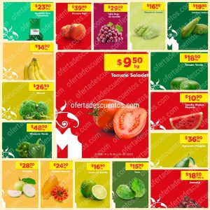 Chedraui: Ofertas Frutas y Verduras 14 y 15 de Julio 2020