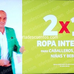 Julio Regalado 2020 Soriana: 2×1 en Ropa Interior para Caballeros, Niños, Niñas y Bebés