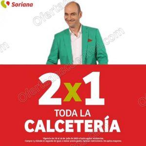 Julio Regalado 2020 Soriana: 2×1 en Toda la Calcetería