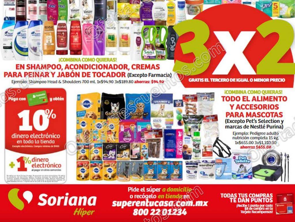 Julio Regalado 2020 Soriana: 3×2 en Alimento y Accesorios para Mascotas