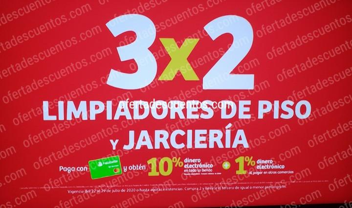 Julio Regalado 2020 Soriana: 3×2 en Limpiadores de Piso y Jarciería