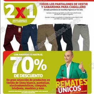 Julio Regalado 2020 Soriana Hiper: 2×1 en Pantalones de Vestir y Gabardina para Caballero