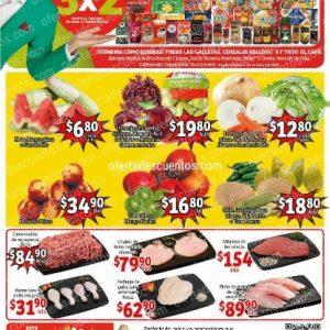Soriana Mercado: Ofertas en Frutas y Verduras del 21 al 23 de Julio 2020