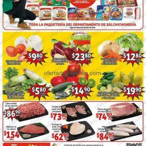 Soriana Mercado: Ofertas Frutas y Verduras del 14 al 16 de julio 2020