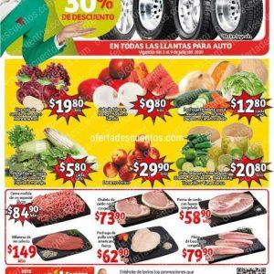 Soriana Mercado: Ofertas Frutas y Verduras del 7 al 9 de Julio 2020