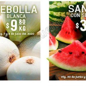 Soriana: Ofertas Frutas y Verduras 7 y 8 de Julio 2020
