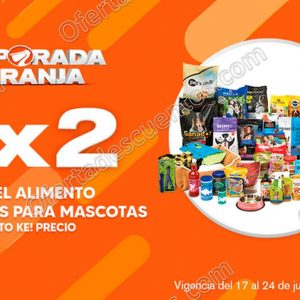 Temporada Naranja 2020 La Comer: 3×2 en Alimento y Accesorios para Mascotas