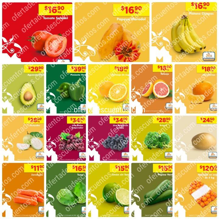 Chedraui: Ofertas en Frutas y Verduras 11 y 12 de Agosto 2020