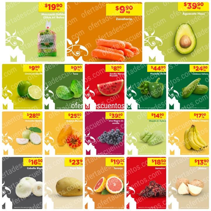 Chedraui: Ofertas en Frutas y Verduras 4 y 5 de Agosto 2020