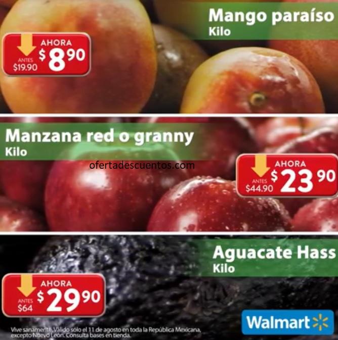 Ofertas Martes de Frescura Walmart 11 de Agosto 2020