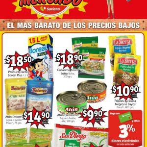 Soriana Mercado: Folleto Ofertas El Precio Mercado del 7 al 20 de Agosto 2020