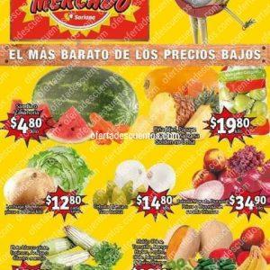 Soriana Mercado: Ofertas en Frutas y Verduras del 11 al 13 de Agosto 2020