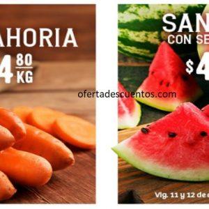 Soriana: Ofertas en Frutas y Verduras 11 y 12 de Agosto 2020
