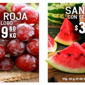 Soriana: Ofertas en Frutas y Verduras 18 y 19 de Agosto 2020