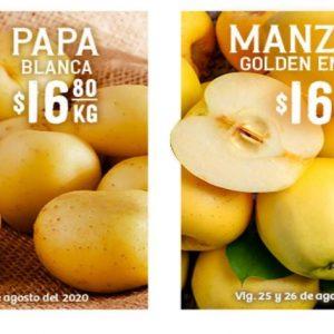Soriana: Ofertas en Frutas y Verduras 25 y 26 de Agosto 2020