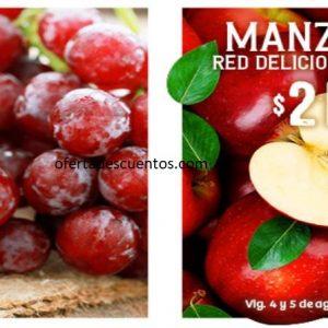 Soriana: Ofertas Frutas y Verduras 4 y 5 de Agosto 2020