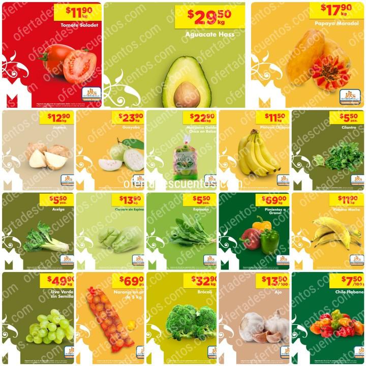 Chedraui: Ofertas Frutas y Verduras 29 y 30 de Septiembre 2020