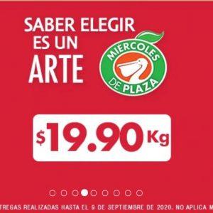 Ofertas Frutas y Verduras Miércoles de Plaza La Comer 9 de Septiembre 2020