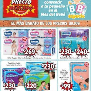 Soriana Mercado: Folleto de Ofertas Mes del Bebé del 4 de Septiembre al 1 de Octubre 2020