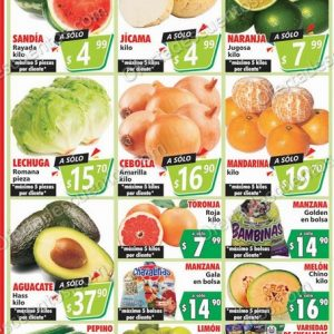Casa Ley: Ofertas Frutas y Verduras 20 y 21 de Octubre 2020