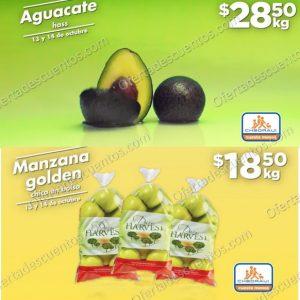 Chedraui: Ofertas Frutas y Verduras 13 y 14 de Octubre 2020