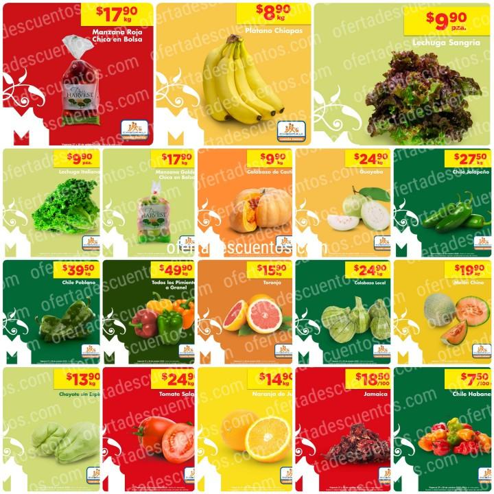 Chedraui: Ofertas Frutas y Verduras 27 y 28 de Octubre 2020