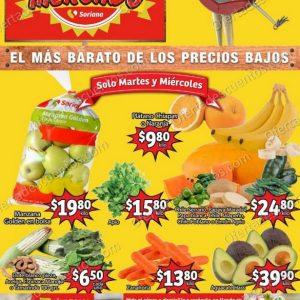 Soriana Mercado: Ofertas en Frutas y Verduras 20 y 21 de Octubre 2020