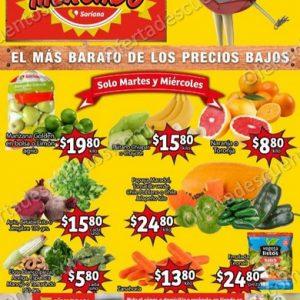 Soriana Mercado: Ofertas Frutas y Verduras 13 y 14 de Octubre 2020