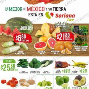 Soriana Super: Ofertas Frutas y Verduras 20 y 21 de Octubre 2020