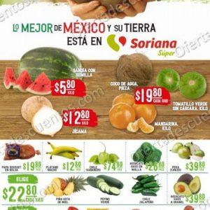 Soriana Super: Ofertas en Frutas y Verduras 13 y 14 de Octubre 2020