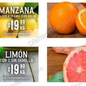 Soriana: Ofertas en Frutas y Verduras 13 y 14 de Octubre 2020