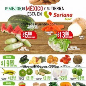 Soriana Super: Ofertas en Frutas y Verduras 6 y 7 de Octubre 2020