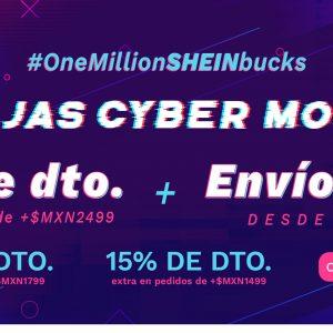 Cyber Monday Shein: Hasta 80% de Descuento más Descuento Adicional Solo el 30 de Noviembre