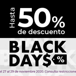 Black Days Suburbia del 27 al 29 de Noviembre 2020
