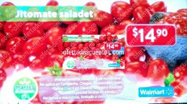 Ofertas Martes de Frescura Walmart 3 de Noviembre 2020