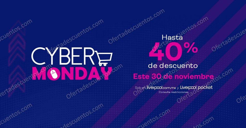 Promociones Cyber Monday Liverpool 30 de Noviembre 2020