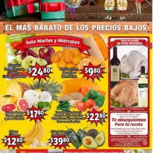 Soriana Mercado: Ofertas en Frutas y Verduras 1 y 2 de Diciembre 2020