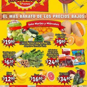 Soriana Mercado: Ofertas en Frutas y Verduras 17 y 18 de Noviembre 2020