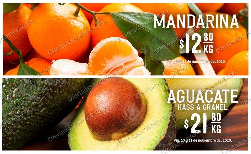 Soriana: Ofertas Frutas y Verduras 10 y 11 de Noviembre 2020
