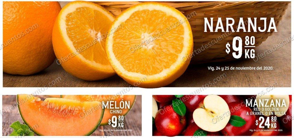 Soriana: Ofertas en Frutas y Verduras 24 y 25 de Noviembre 2020